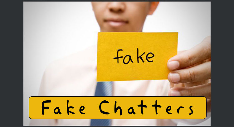 fake user and chat id